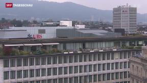Video «UBS will Risiken auslagern» abspielen
