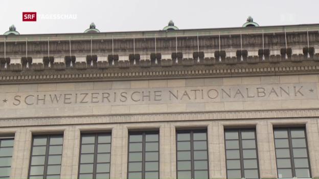 Video «Zinsen in der Schweiz bleiben tief» abspielen