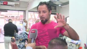 Video ««Werft eure Bomben weg von der Bevölkerung»» abspielen