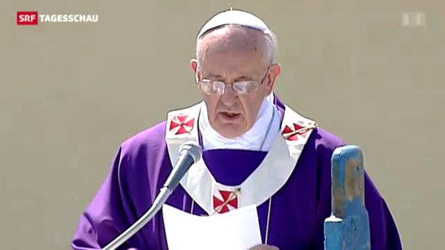 Papst Franziskus besucht Lampedusa