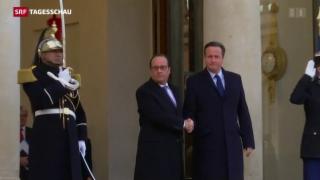 Video «Cameron und Hollande entschlossen gegen IS» abspielen