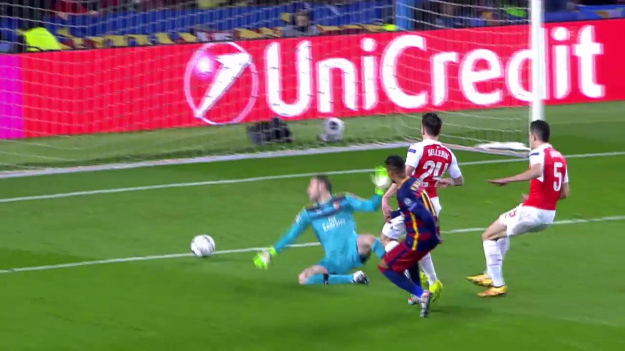 Suarez, Neymar und Messi besiegeln Arsenals Out