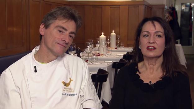 Video «Restaurant Zunft zu Webern in Bern - Tag 4» abspielen
