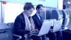 Video «SBB wollen 100 Bahnhöfe mit gratis W-LAN ausstatten» abspielen