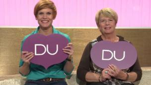 Video «Im Harmoniequiz: Wettermoderatorin Sandra Boner und Mama Louise» abspielen