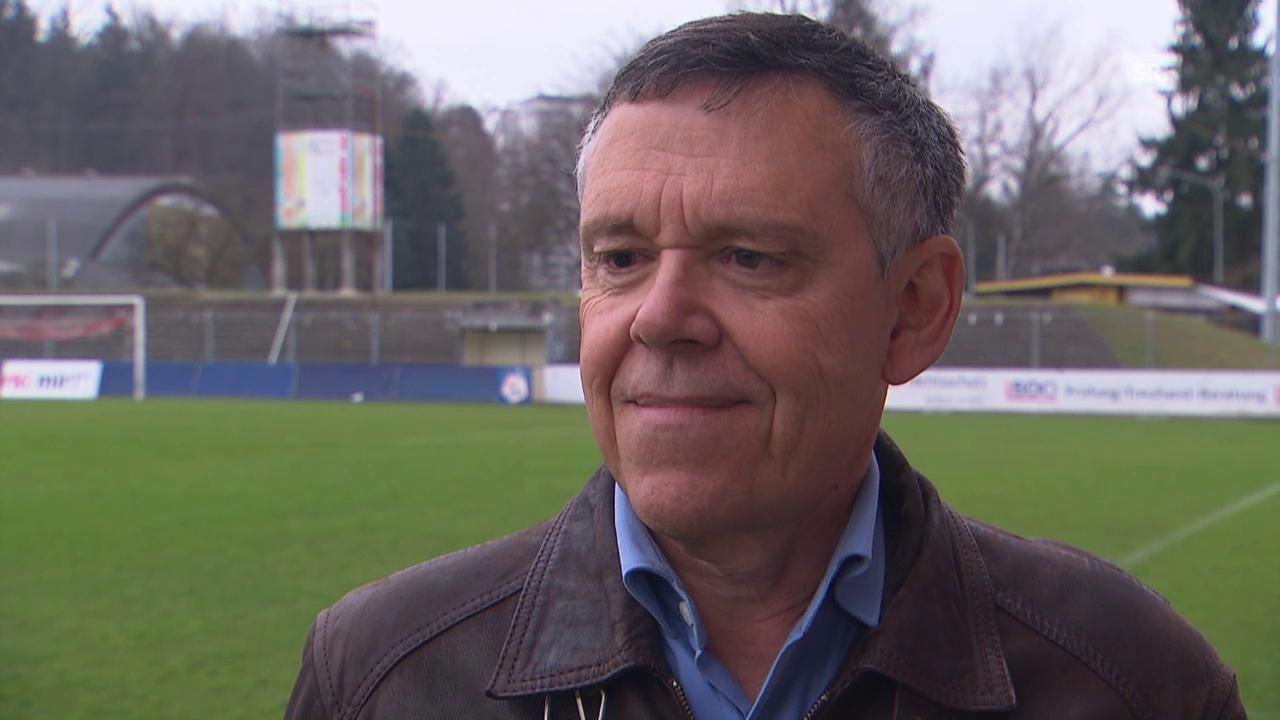 Fussball: Super League, FC Aarau, Sportchef Urs Bachmann im Interview