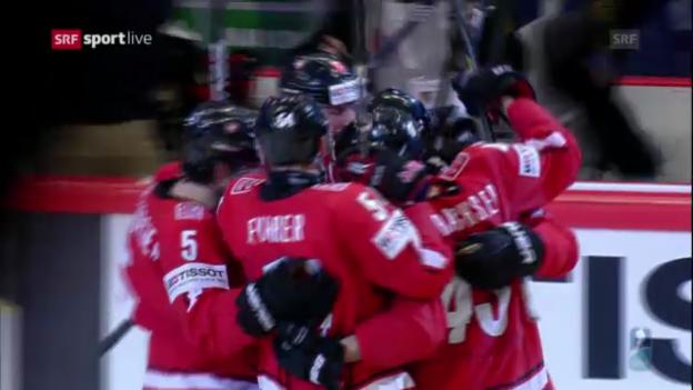 Video «Schweiz - USA: Die Tore («sportlive»)» abspielen