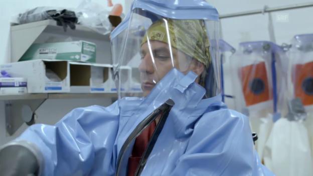 Video «Dr. Gary Kobinger im Hochsicherheitslabor der tödlichsten Viren» abspielen