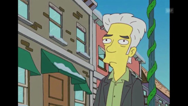Video «Jim Jarmusch (The Simpsons, Fox)» abspielen