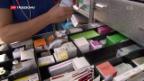 Video «Neue EU-Regeln für Medikamenten-Transport» abspielen