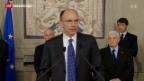 Video «Italien hofft auf eine neue Regierung» abspielen