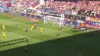 Video «Unentschieden zwischen YB und Basel» abspielen