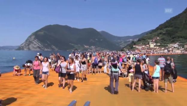 Video «Floating Piers» abspielen