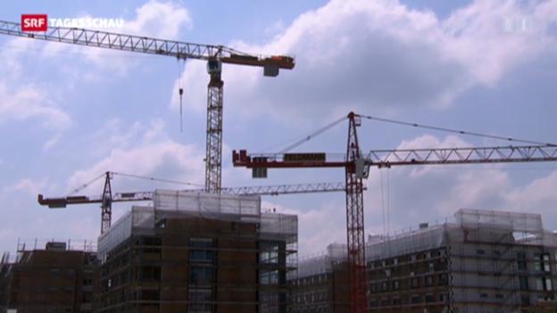 Video «Zenit in der Baubranche scheint erreicht» abspielen