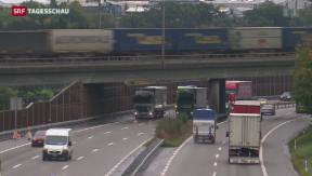 Video «Güterverkehr in der Schweiz stösst an Grenzen» abspielen