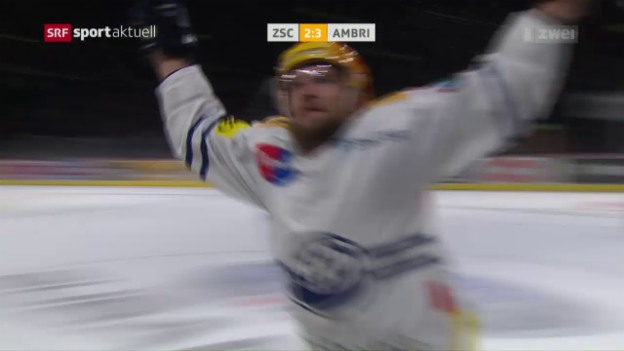 Video «Ambri vermiest Seger-Rekordspiel» abspielen