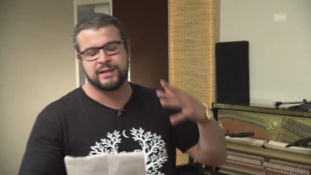 Video «Baze rappt Spans «Louenesee»» abspielen