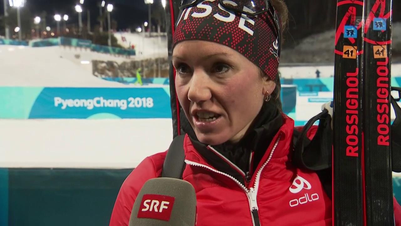 Selina Gasparin: «Im Wettkampf will es einfach nicht»