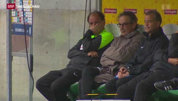 Video «Aarau steigt in die Challenge League ab» abspielen