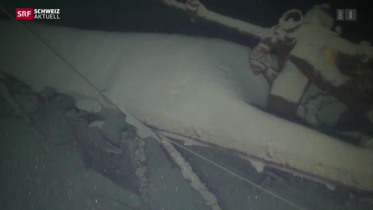 Flugzeugwrack nach über 70 Jahren entdeckt