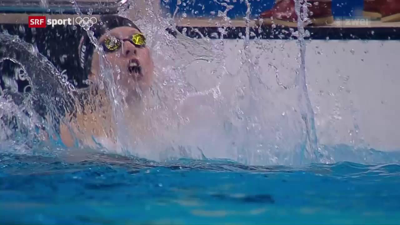 6 Schwimm-Medaillen für die USA