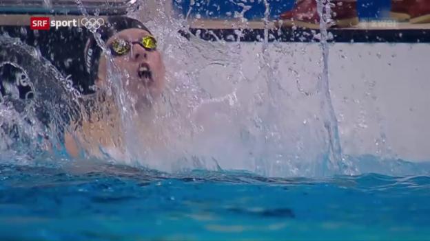 Video «6 Schwimm-Medaillen für die USA» abspielen