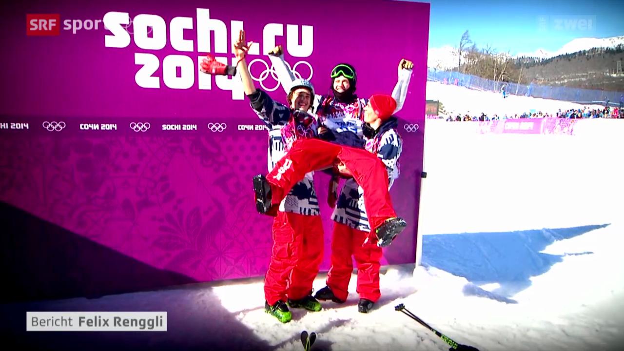 Ski Slopestyle: Totaler US-Triumph bei der Olympia-Premiere