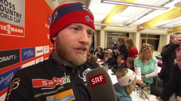 Video «Langlauf: Interview mit Martin Johnsrud Sundby» abspielen