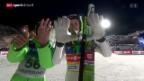 Video «Prevc gewinnt Skifliegen in Vikersund» abspielen