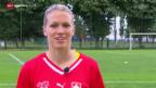 Video «Fussball: Lara Dickenmann im Porträt» abspielen