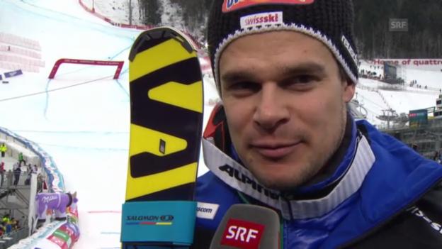 Video «WM-Abfahrt: Interview Patrick Küng» abspielen