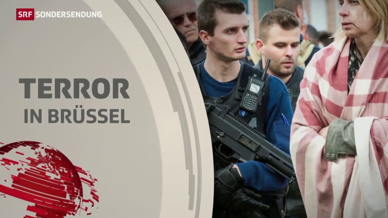 Sondersendung: Terror in Brüssel, 22.03.2016