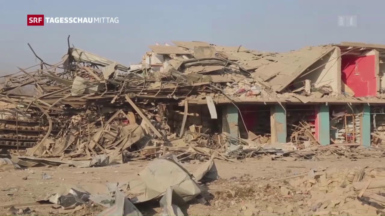 Sechs Tote bei Selbstmordangriff in Afghanistan