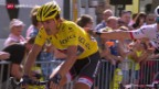 Video «Rad: TdF, Cancellara nach 3. Etappe out» abspielen