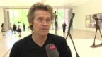 Video «Hollywood-Star Willem Dafoe in Basel» abspielen