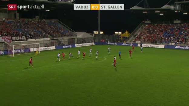 Video «Fussball: Super League, Vaduz-St.Gallen» abspielen
