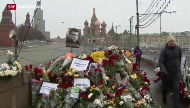 Video «Festnahmen im Mordfall Nemzow» abspielen