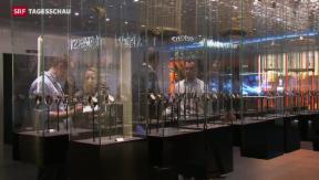 Video «Baselworld mit intelligenten Uhren» abspielen