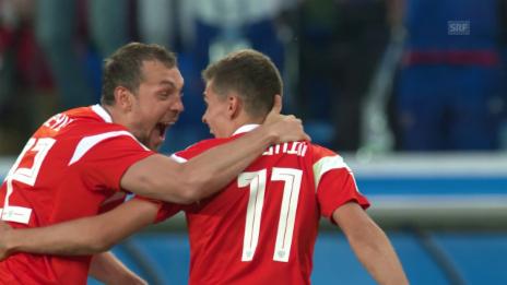 Link öffnet eine Lightbox. Video Russland schlägt Ägypten 3:1 abspielen