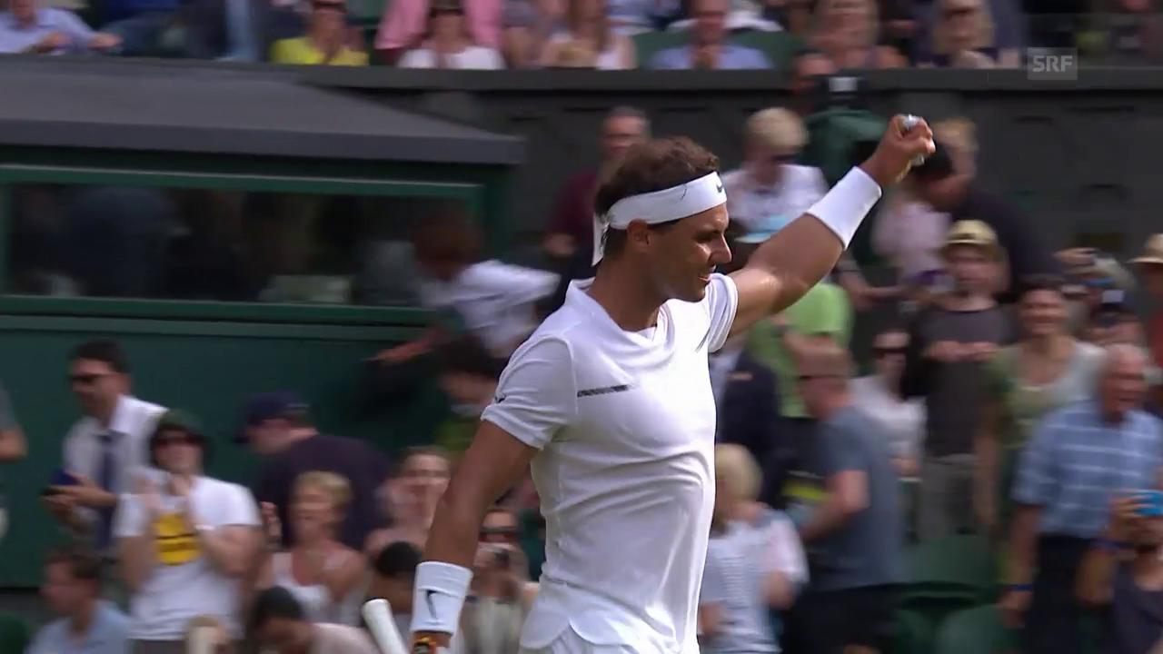 Nadal - Chatschanow: Der Matchball