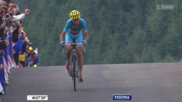 Video «Rad: Die 10. Etappe der Tour de France» abspielen