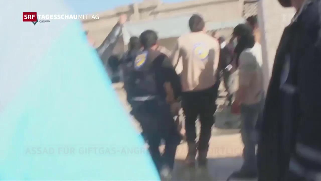 Syrische Armee setzte Giftgas ein