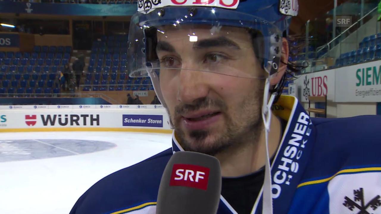 Eishockey: Spengler Cup, Interview mit Andres Ambühl