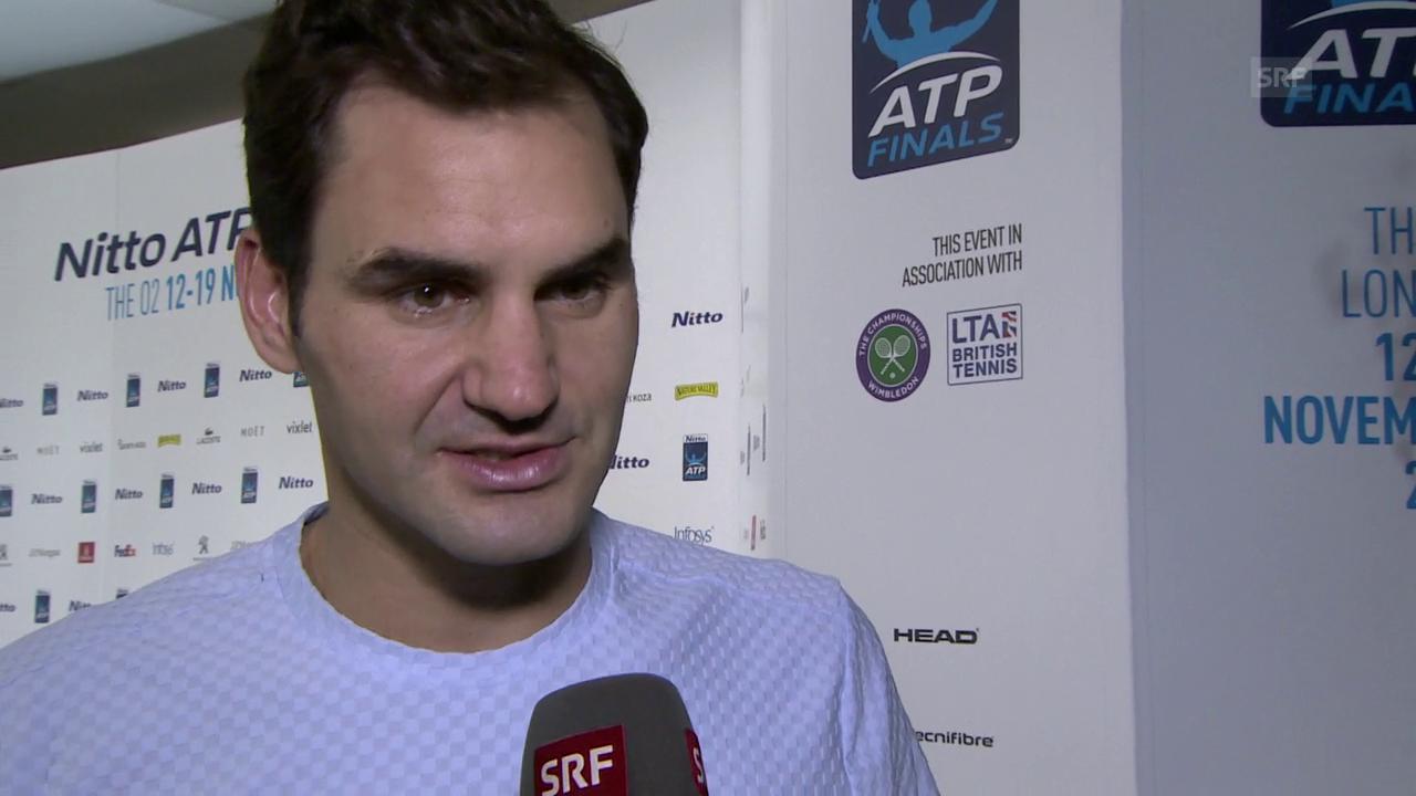 Federer: «Es ging nicht richtig auf»