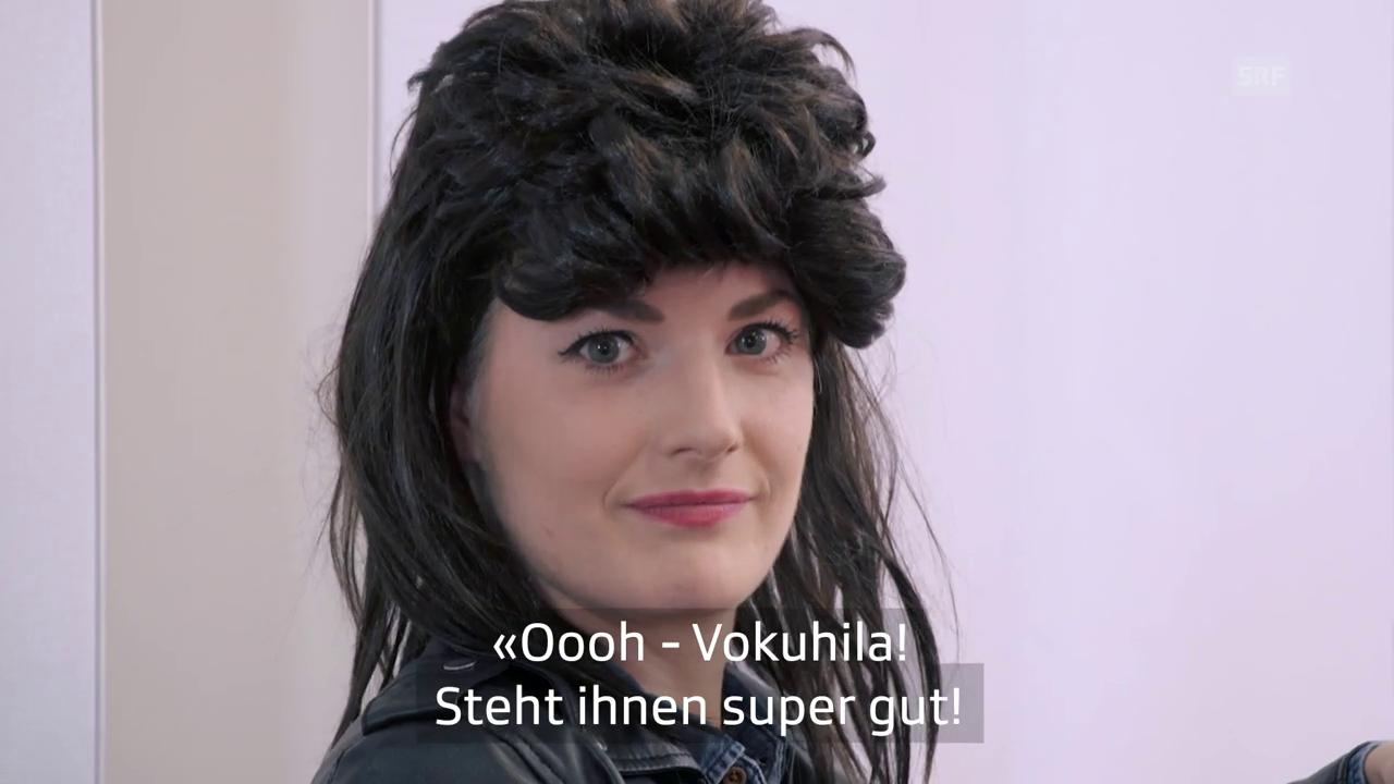 «Nägeli mit Chöpf»: Haare