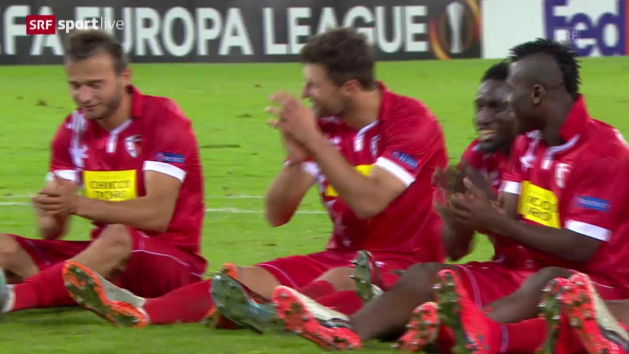 Fussball: Europa League, Zusammenfassung Sion - Rubin