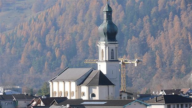 Glockengeläut der Kirche Mariä Himmelfahrt, Domat/Ems