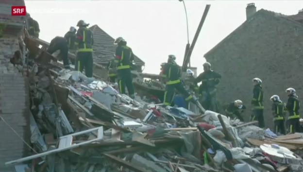 Video «Paris: Hauseinsturz mit mehreren Toten» abspielen