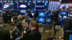 Video «Die Berg- und Talfahrt an der Wall Street» abspielen