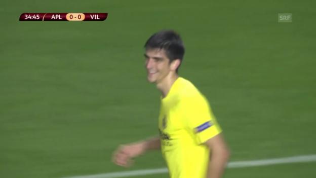 Video «Fussball: EL, Limassol-Villarreal» abspielen